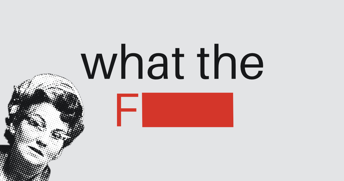 Scunthorpe Sans 🗯🚫 profanity-blocking font