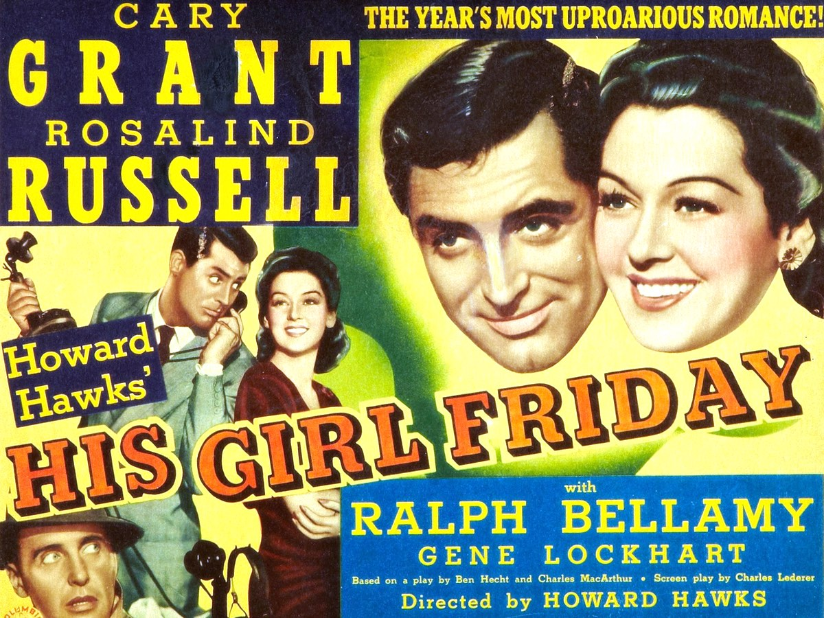His Girl Friday (1940) 🍿 Voleflix